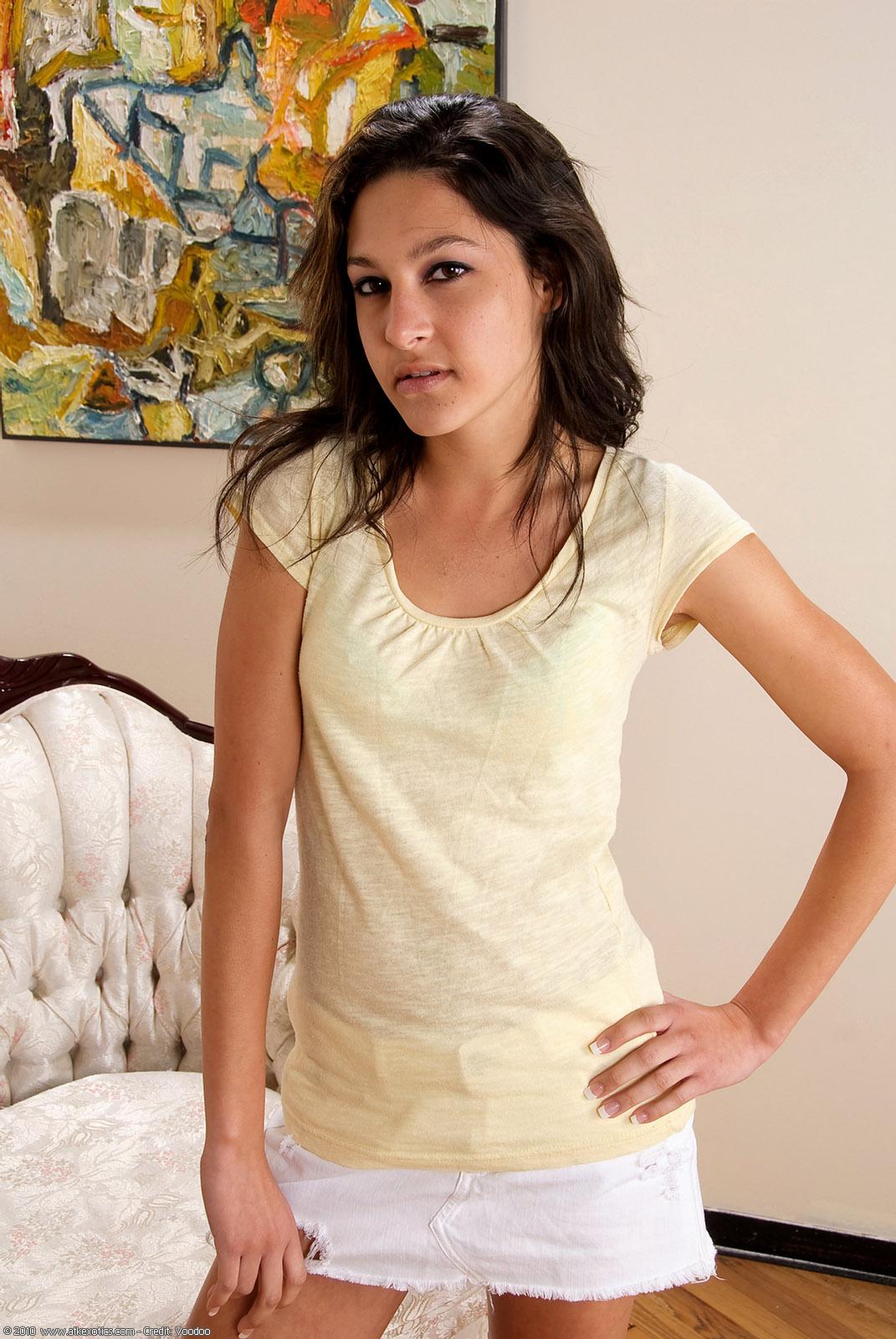 Atk Exotic Galleries  Side Tie Full Bottom Satin Panties -5076
