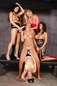 Fascinating MILF Gangbang Led By Vanessa Videl And An Orgy Of Kinky Lesbian Teacher With Massive Toys