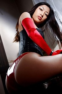 Nasty Asian Girl Want To Spank Your Butt With Her Whip