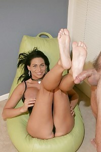 Legendary Slut In Nylons Swallowing Uncle Dick While Placing Banana In Her Beaver